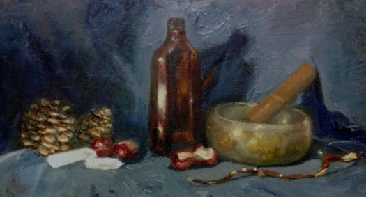 Tezlaf_Scott - Painting - Medicine
